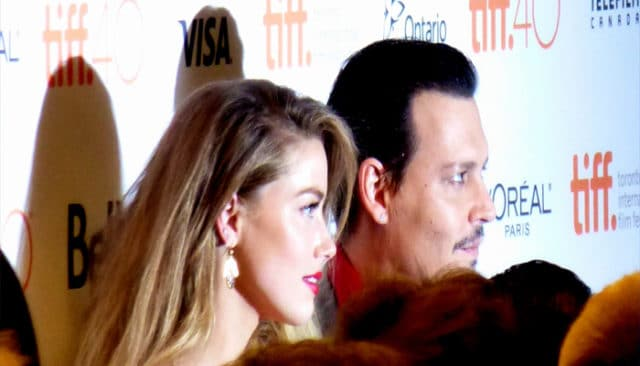 Amber Heard et Johnny Depp / CC GabboT