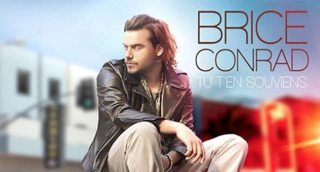 Le chanteur Brice Conrad / Photo Via CP