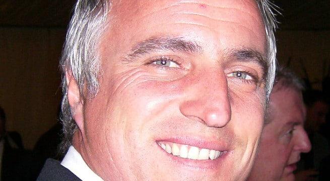 Le joueur David Ginola / CC Graham Betts