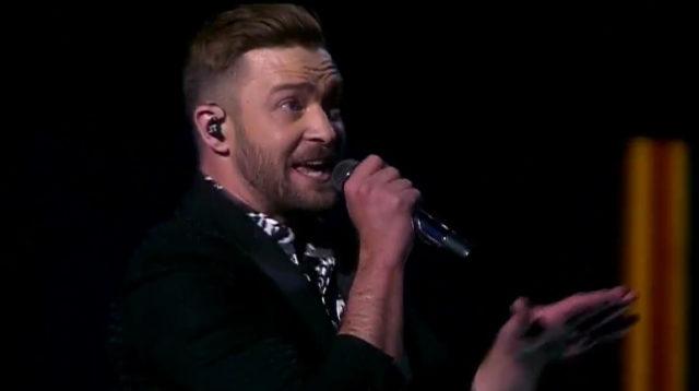 Justin Timberlake fait le show à l'Eurovision 2016 / Capture Youtube