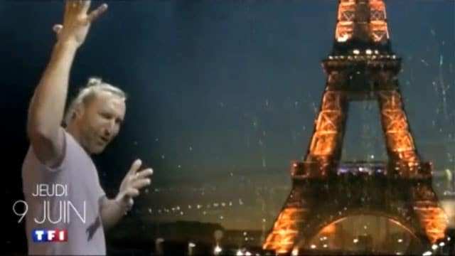 David Guetta va faire le show à Paris pour l'Euro2016 / Capture TF1