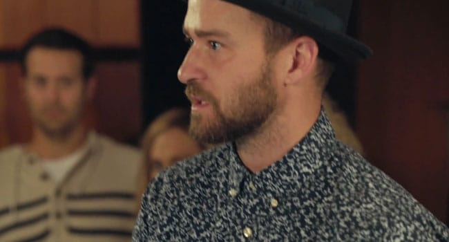 Justin Timberlake dans son nouveau clip Can't Stop the Feeling / Capture Youtube Vevo