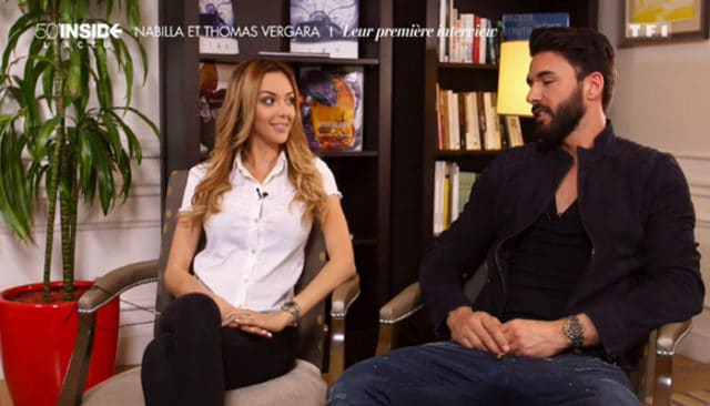 Nabilla et Thomas / Capture TF1
