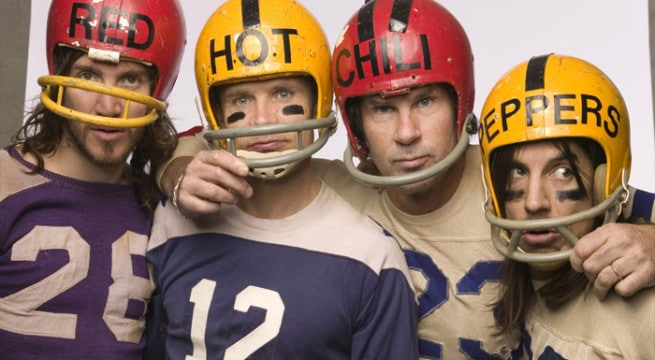 Les Red Hot Chili Peppers en concert !