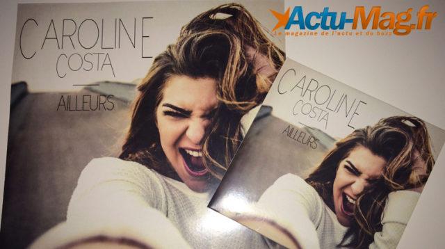 "La pochette du nouveau single de Caroline Costa ""Ailleurs"""