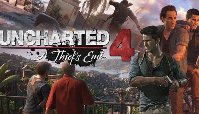 Uncharted 4 / Cover