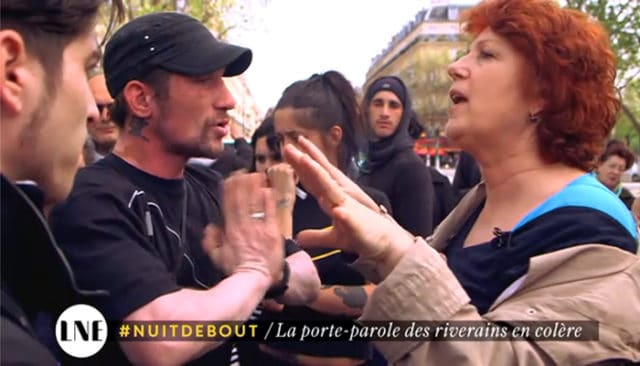 Véronique Genest en guerre contre #Nuitdebout / Capture Canal +