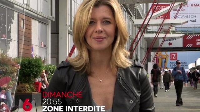La journaliste et présentatrice Wendy Bouchard dans Zone Interdite / Capture M6