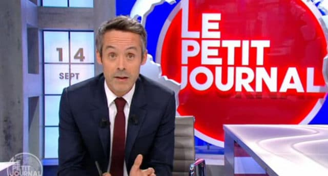 Yann Barthès / Capture Le Petit Journal Canal +
