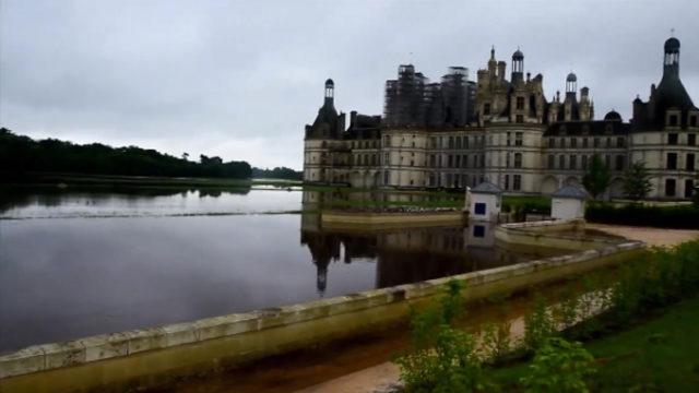 Le château de Chambord sous les eaux / Capture vidéo Facebook