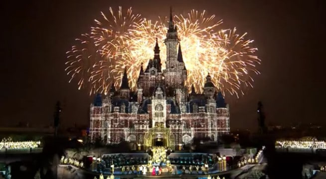 Shanghai Disney Resort, le nouveau parc Disney en Chine / Capture Youtube