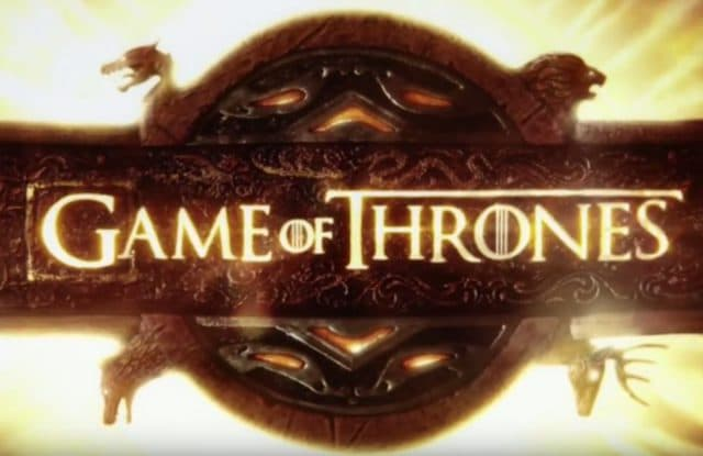 Capture youtube Game of Thrones générique / HBO