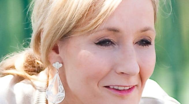 La célèbre romancière J. K. Rowling connue pour sa saga à succès Harry Potter  / CC Daniel Ogren