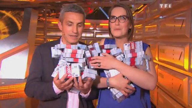 Ils gagnent la somme de 260.000 euros à Money Drop et battent le record de l'émission / Capture TF1