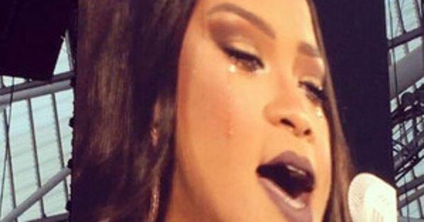 Rihanna en larmes à Dublin / Capture Youtube
