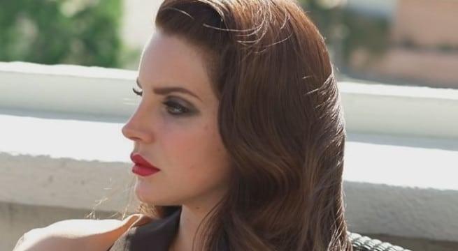 La chanteuse Lana Del Rey - Super Movie / Capture Youtube