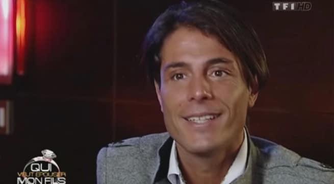 Le candidat de télé-réalité Giuseppe