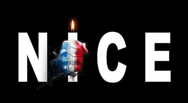 #PrayforNice / Capture twitter