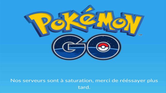 L'application Pokemon Go victime d'une panne / Capture Twitter