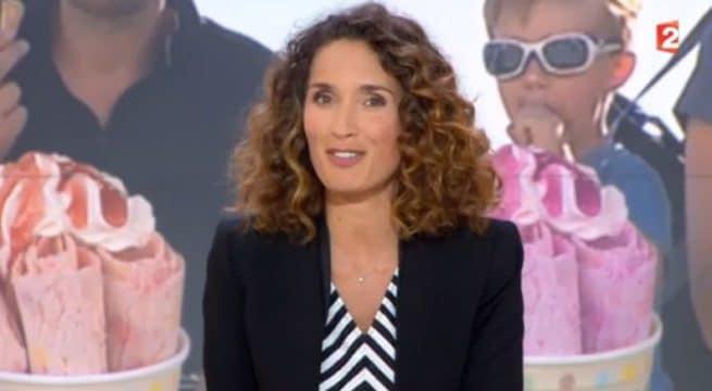 Marie-Sophie Lacarrau dans le JT de France 2 de ce vendredi / Capture France 2