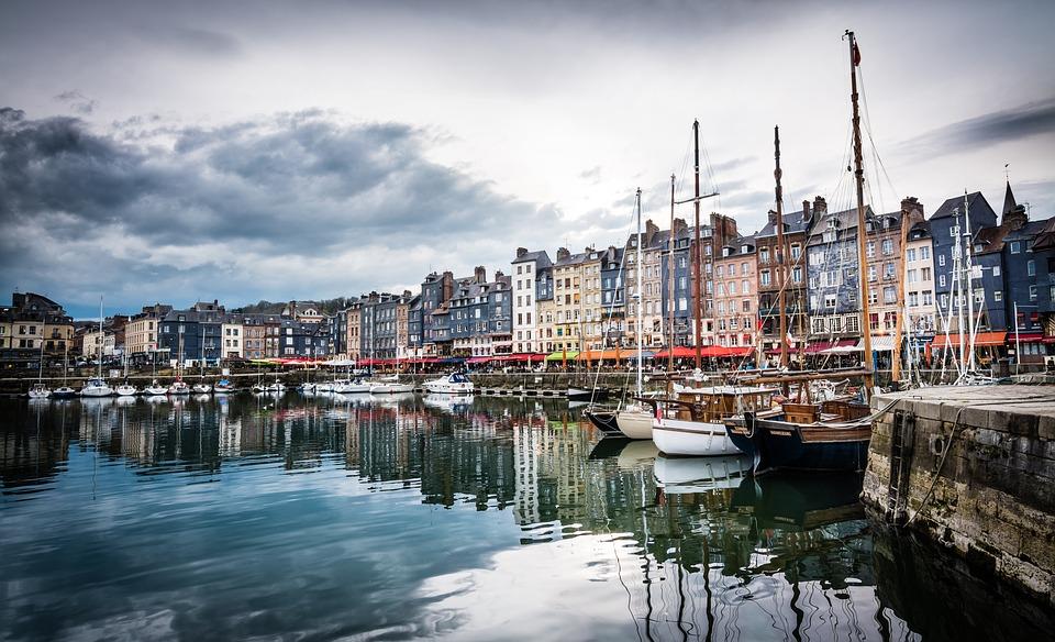 La commune d'Honfleur dans le Calvados / Illustration Pixabay