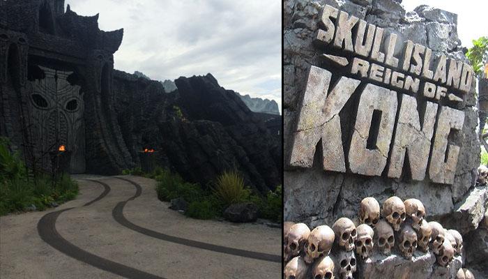King Kong Skull Island, la nouvelle attraction du parc Universal Orlando / Crédit Photo : Jérémy R. Actu-Mag.fr