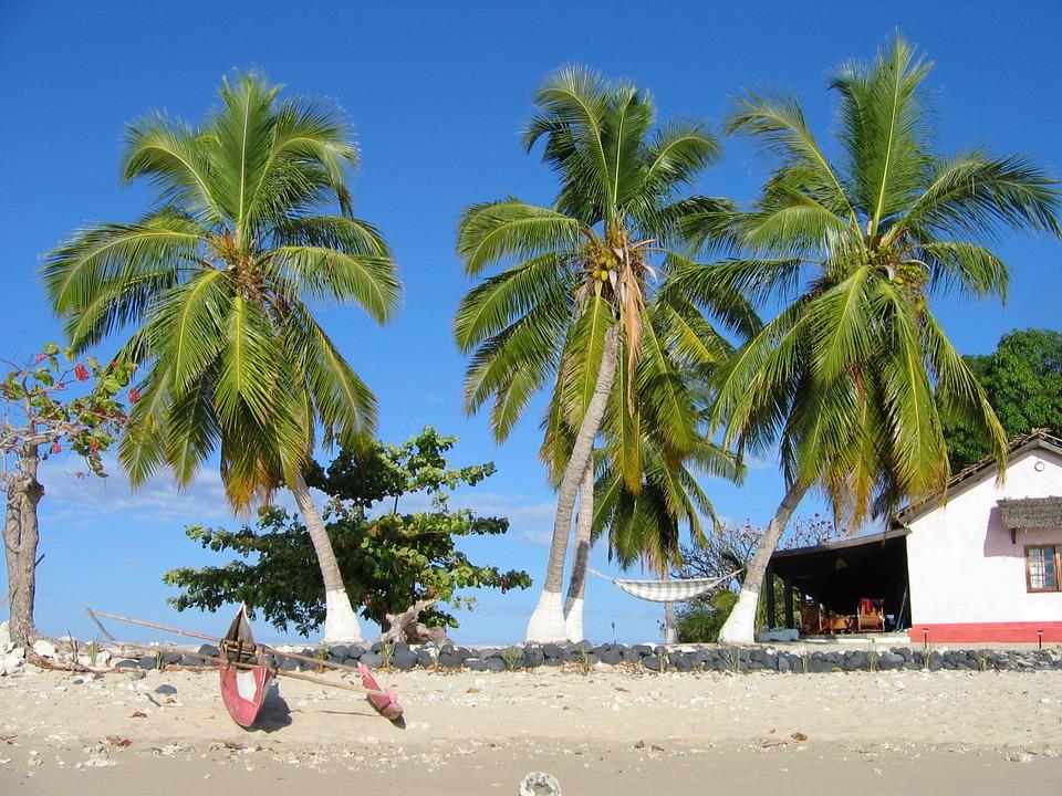 Une plage de Madagascar / Illustration Pixabay