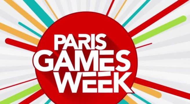 Le logo de la Paris Games Week édition 2016 / Capture site
