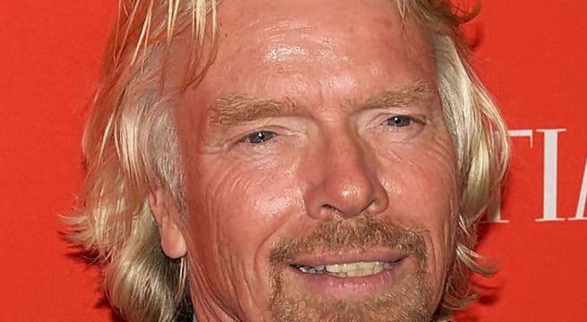 L'acteur Richard Branson / CC David Shankbone