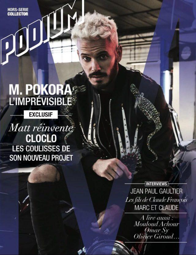 M. Pokora - Podium (Couverture Magazine)