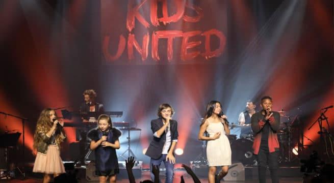Les Kids United ce mercredi soir aux Folies Bergères / Photo ©Guillaume Mirand