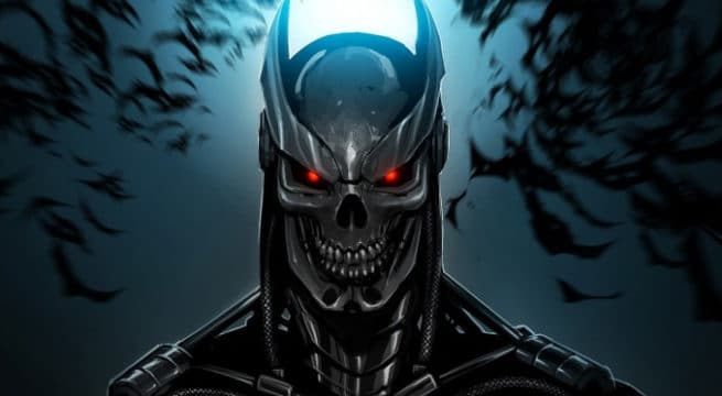 Illustration d'un Batman Terminator