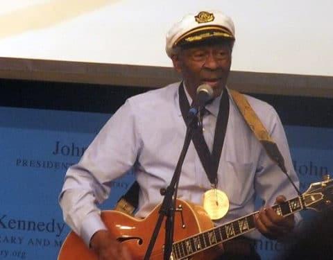 Le chanteur Chuck Berry / Photo Michael Borkson CC-BY