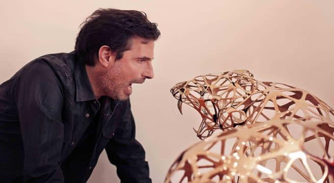 Le Dj et Sculpteur Richard Orlinski / Photo Via CP Riseup