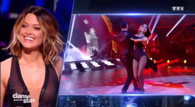 Caroline Receveur dans DALS7 / Capture TF1