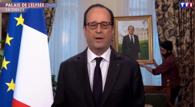 Renoncement de Hollande : les déménageurs s'emparent de l'Élysée !