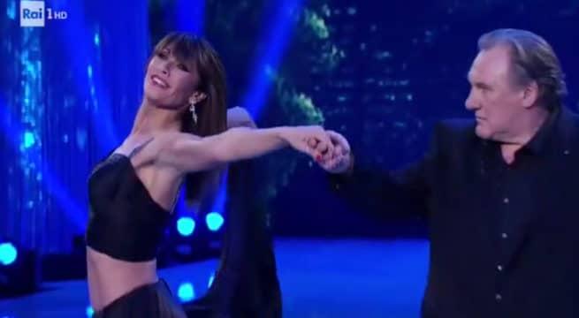 Gérard Depardieu s'invite dans Danse avec les stars en Italie