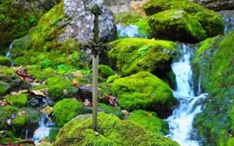 L'épée d'Excalibur