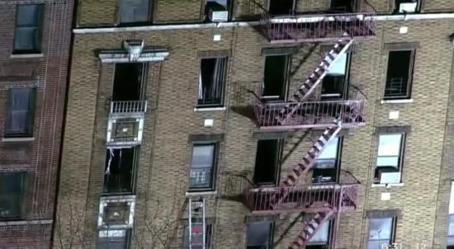 L'incendie provoqué par un enfant — New York
