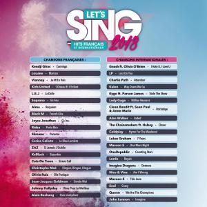 Let's Sing 2018 Hits Français et Internationaux - Playlist